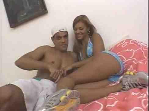 Anal E Vaginal Com Brasileira Gostosa