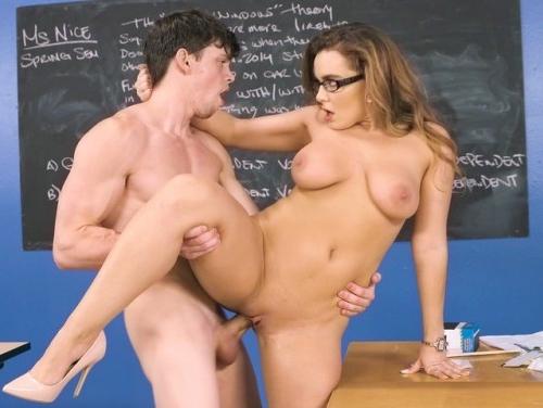 Comendo a professora
